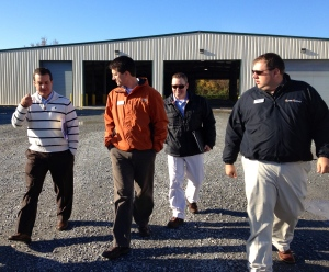 Ben, Ken, and Matt talk with Charles Green, Marketing Director for VDACS about agricultural trade in Virginia