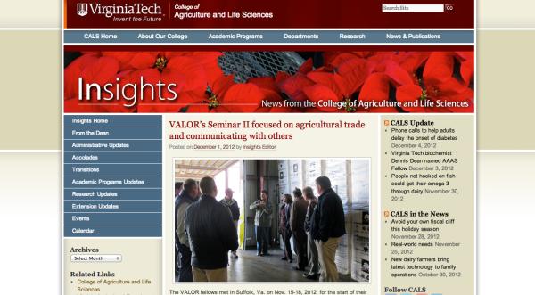 insights article - Seminar II