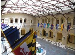 Inside the USDA building