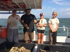 Oyster Dredging