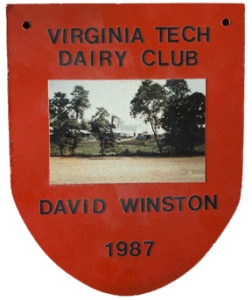 Dairy Club Plaque